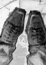 Иллюстрация Георгия Тандашвили к повести «Надолго, может, навсегда»