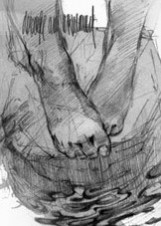 Иллюстрация Георгия Тандашвили к повести «Башня птиц»